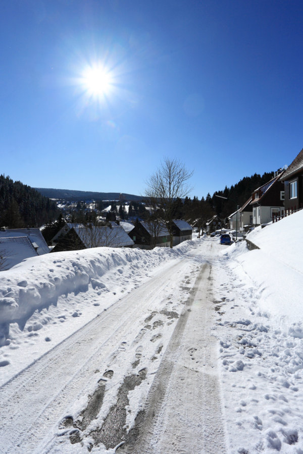 Altenau im Winter